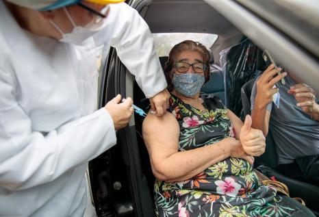 O novo recorde diário de imunização aconteceu após a Prefeitura de Manaus